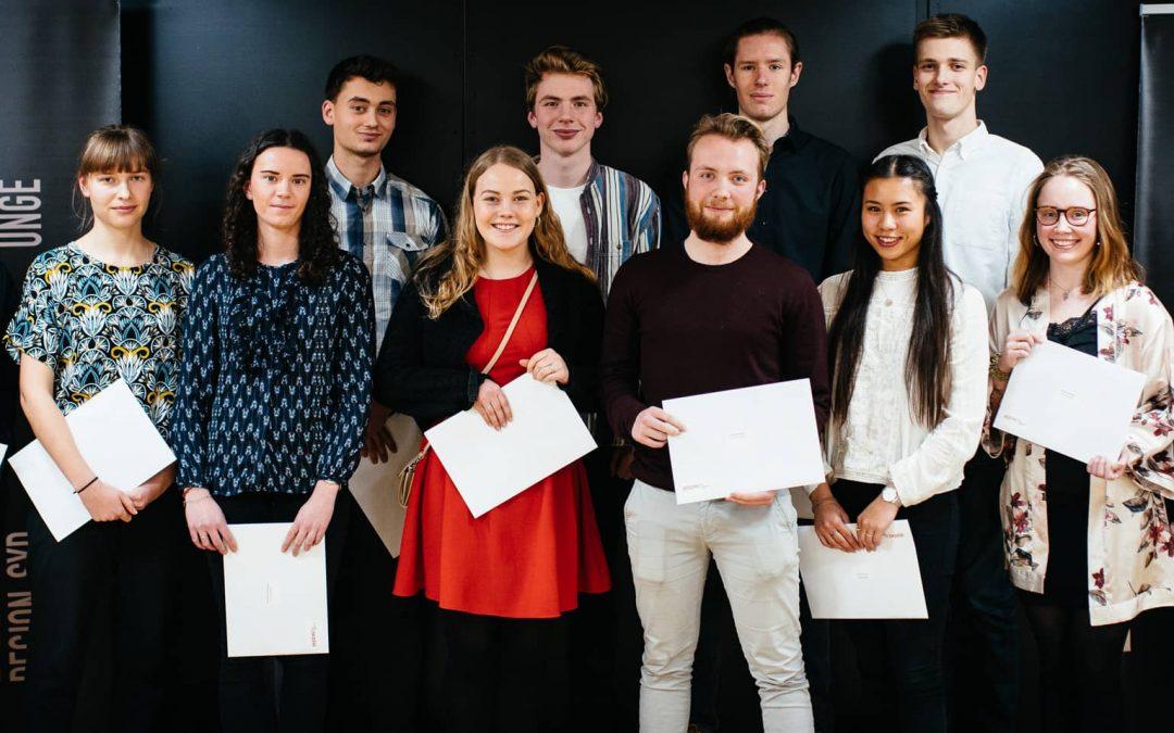 11 elever fra Mulernes Legatskole får diplom