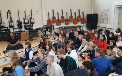 STUDIERETNINGSDAG 4: Musikelever indstuderede og dirigerede