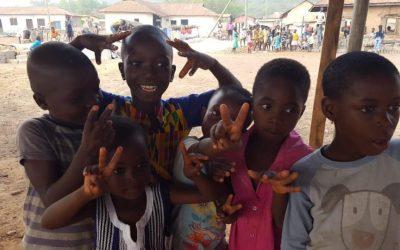6 Mulere er 3 uger i Ghana