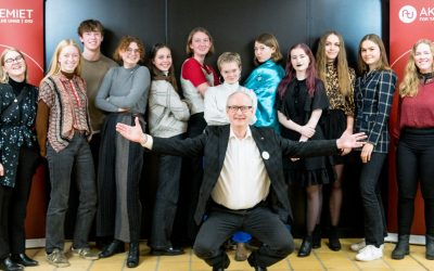 12 elever med særlige talenter